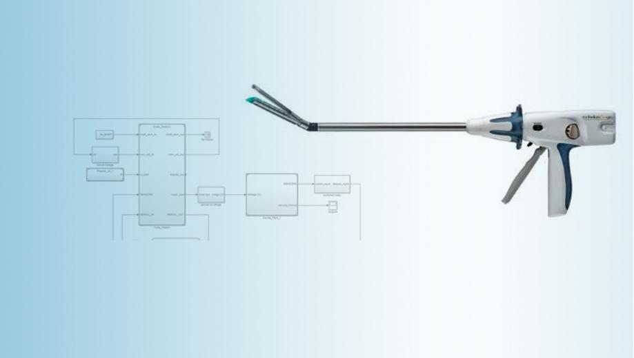 Creating an Endoscopic Surgical Stapler Prototype Using Model-Based Design