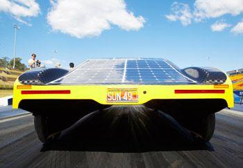 Figure 4. The Sunswift eVe solar array.