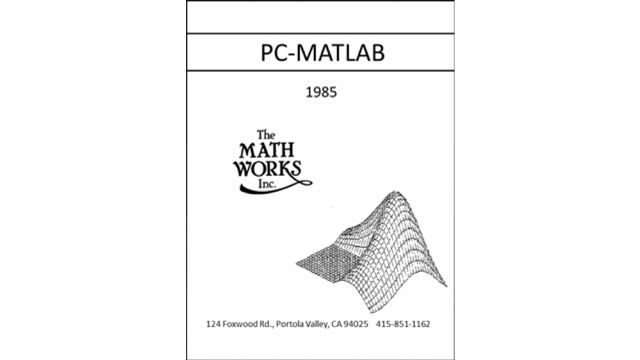Cleve's Corner: A Brief History of MATLAB