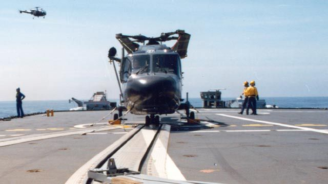 DCNS Models and Simulates SAMAHE Helicopter Handling System