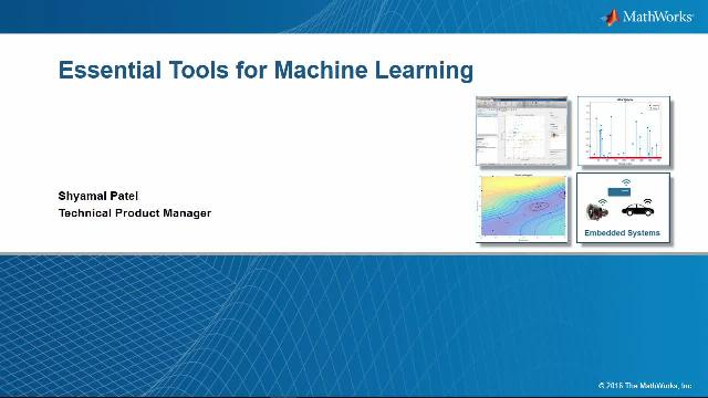 Learn how to apply, evaluate, fine-tune and deploy machine learning techniques with MATLAB.