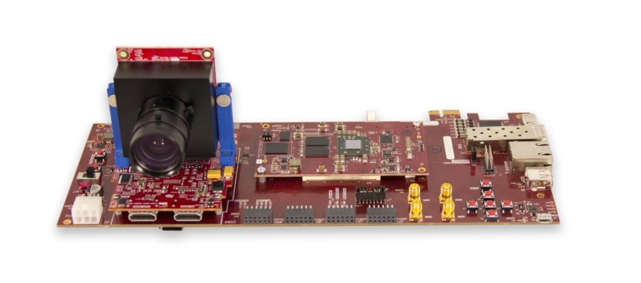 Prototype your design on FPGA hardware with real-world video input.