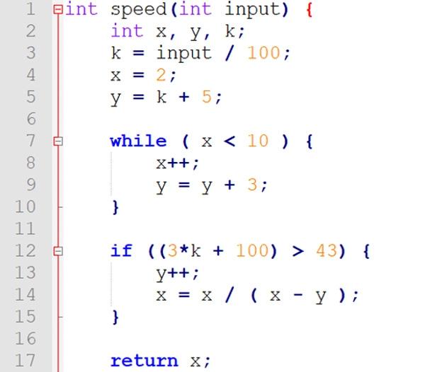 static code analysis code sample