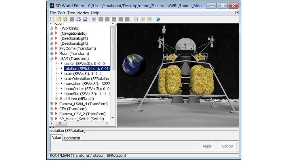 3D World Editor