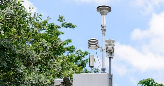 ThingSpeak for Air Quality Monitoring