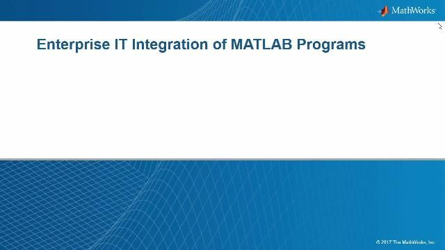 The MATLAB Production Server will allow you to reliably scale the deployment of your MATLAB applications and centrally manage multiple version of MATLAB programs and runtimes.