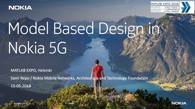 Model Based Design in Nokia 5G