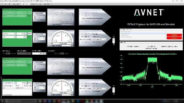 Capture, measure, and characterize RF performance in millimeter-wave bands using MATLAB and Simulink and the Avnet mmWave Radio Development Kit with Xilinx Zynq UltraScale+ RFSoC Gen-3