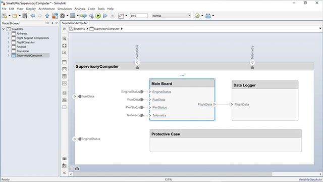 See how to create a Simulink behavioral model from a System Composer component and how to create a System Composer component from an existing Simulink model.