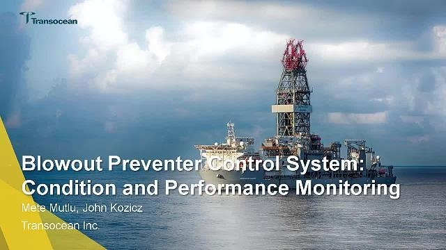 Transoceanmonitors the performance of a subsea blowout preventer (BOP) in Simscape using adaptive physics-based models, signal processing, and edge analytics.