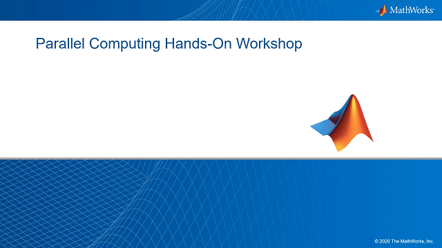 Learn how parallel computing with MATLAB and Simulink lets you solve computationally and data-intensive problems using multicore processors, GPUs, and computer clusters. Get hands-on experience with the accompanying set of exercises and examples.