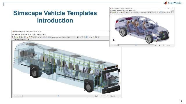 See an introduction to Simscape Vehicle Templates. The templates provide a configurable model of the vehicle, a library of customizable components, and a user interface that you can use to customize the vehicle and the event you wish to run.