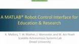 In this webinar we present a hardware-in-the-loop robot control interface built on top of the MATLAB programming environment. Specifically, we leverage MATLAB integration with external languages to develop toolboxes to interface with off-the-shelf ro