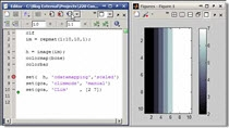 In this MATLAB video we show how you can manipulate the clim property of an axis to determine the points that an image will saturate the colormap. This is often a better choice than making a strange colormap to get the same effect.