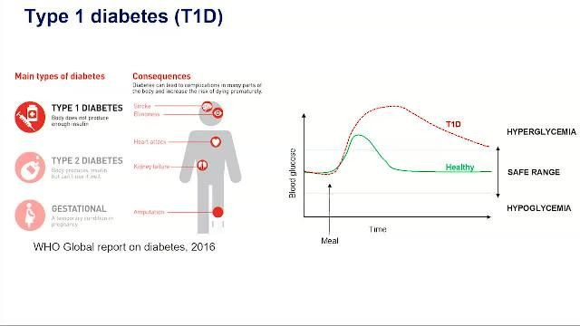 Design a controller for the artificial pancreas for closed-loop insulin therapy in Type-1 diabetes with data-driven methods for robustness to uncertain future meals. Evaluate the technique on virtual patient models using MATLAB.