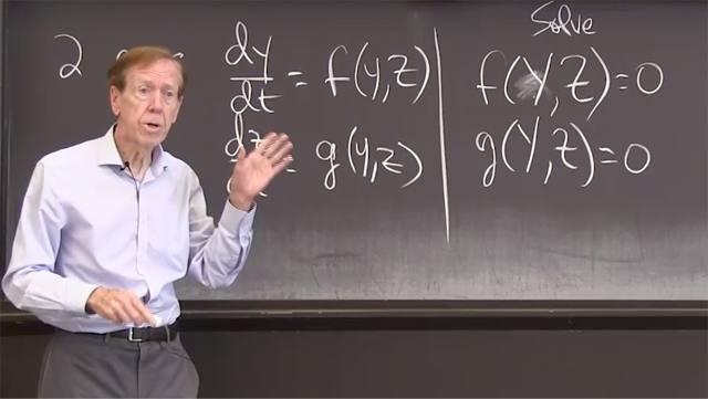 A critical point is a constant solution <em>Y</em> to the differential equation <em>y' = f(y)</em>. Near that <em>Y</em>, the sign of <em>df/dy</em> decides stability or instability.