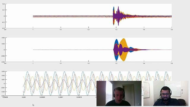 Stephen Cronin from the Robotics Association at Embry-Riddle Aeronautical University demonstrates how to detect the direction of arrival of an underwater acoustic signal using MATLAB.