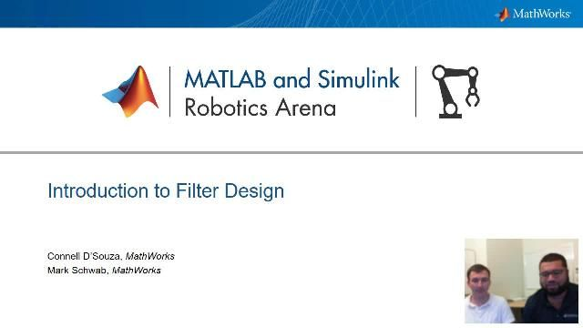 Join Mark Schwab and Connell D'Souza as they demonstrate the use of the Filter Designer app and interactively design filters for digital signal processing that can be implemented in MATLAB or Simulink.