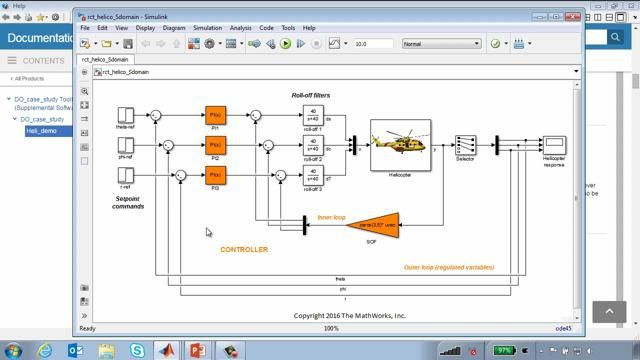 This webinar provides a high level overview of the workflow for developing systems to meet aerospace certification requirements.  The workflow will be demonstrated using a Helicopter flight control system example.