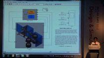 SimMechanics는 로봇, 차량 서스펜션, 건설 기계, 비행기 랜딩기어 등과 같은 3차원기계 시스템에 대한 다물체 거동 해석 환경을 제공합니다. 본 세션에서는 SimMechanics를 이용하여 기계 시스템을 모델링하고 해석한 결과를 자동 3D animation 생성기능을 사용하여 손쉽게 표현 하는 방법을 소개합니다. 또한 SimMechanics 모델에 Simscape로 모델링한 전기, 유압, 공압 부품을 더해 플랜트를 완