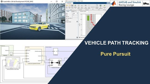 Learn how to implement a pure pursuit controller on an autonomous vehicle to track a planned path.