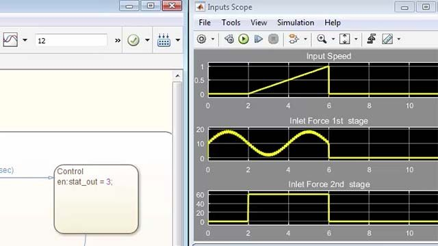 Design supervisory control logic using Stateflow.